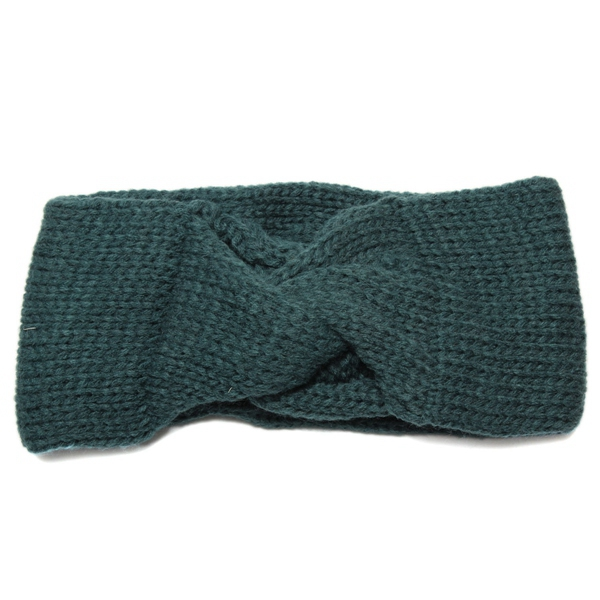 Women Knitted Headbrand Crochet Turban Ear Warmer Wrap Hair Band