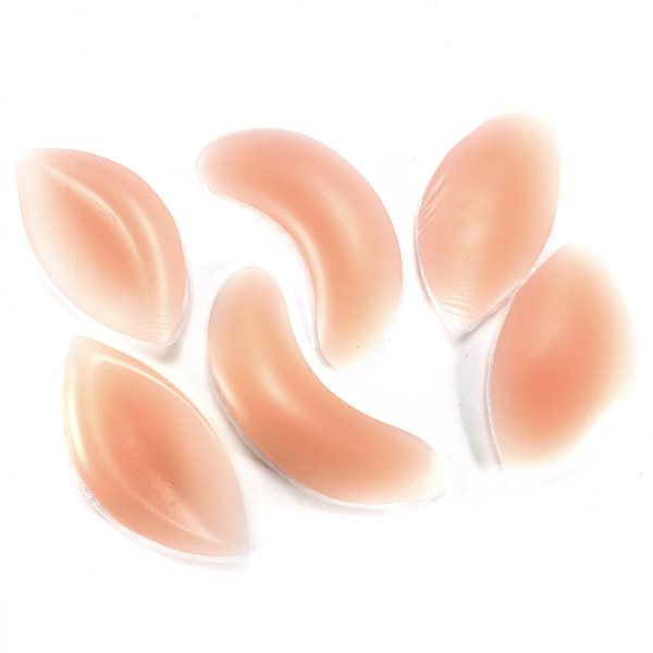 1 Pair Insert Invisible Bra Push Up Breast Enhancer Bust Silicone Squishies Squishy Gel Pads