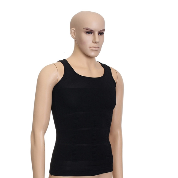 Men's Sexy Vest Body Fatty Tummy Shaper Underwear Belt Corset