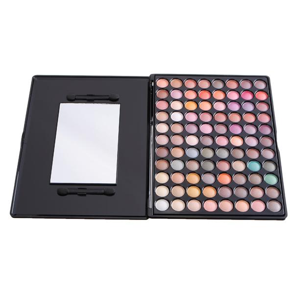 MSQ 88 Colors Makeup Cosmetic Shimmer Eyeshadow Palette Rock Metal