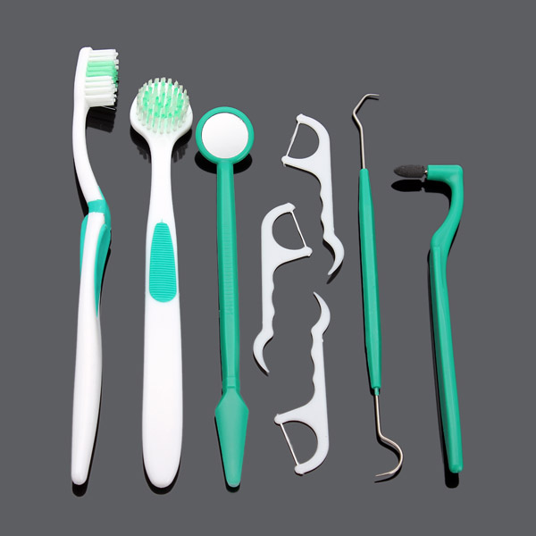 8 Pcs Oral Care Product Dental Care Tools Set