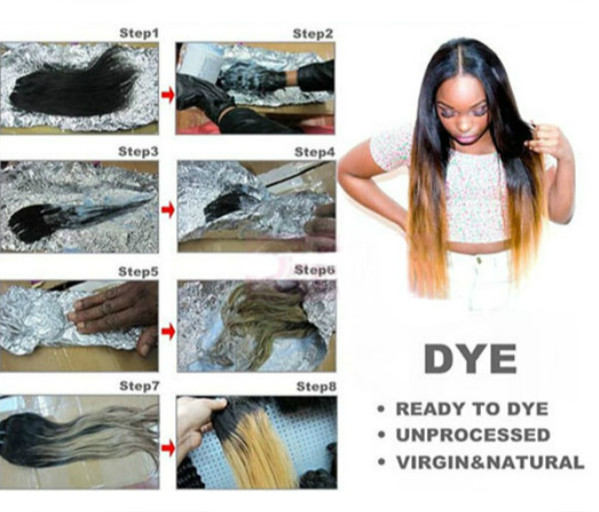 Brazilian Kinky Straight Virgin Real Human Hair Piece Extension