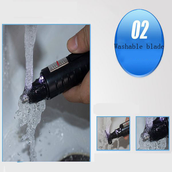 KEMEI KM-9688 2 In 1 Nose Hair Removal Electric Rechargeable Trimmer