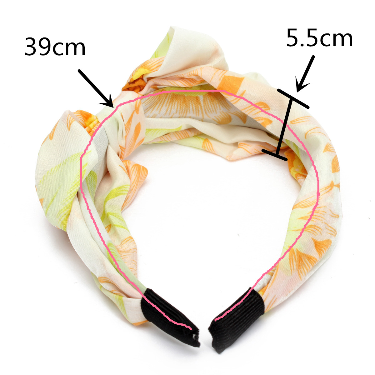 Chiffon Blends Girls Lady Bowknot Headbrand Hairdressing Hair Accessories