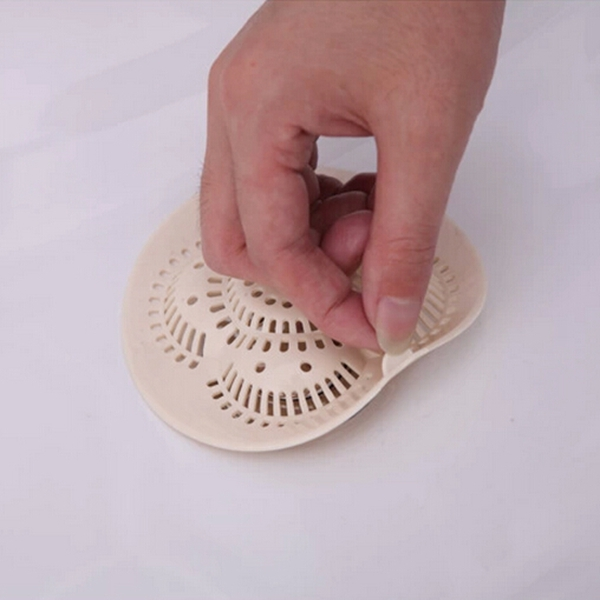 Reusable Bathroom Kitchen Sucker Drain Floor Hair Filter Net