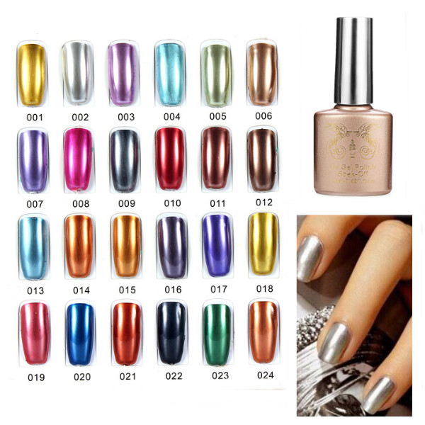 Nail Art Primer Base Builder For Metal Color UV Gel