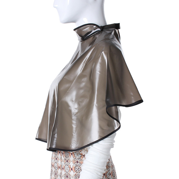 Waterproof Transparent Hair Cutting Perming Dye Gown Cape