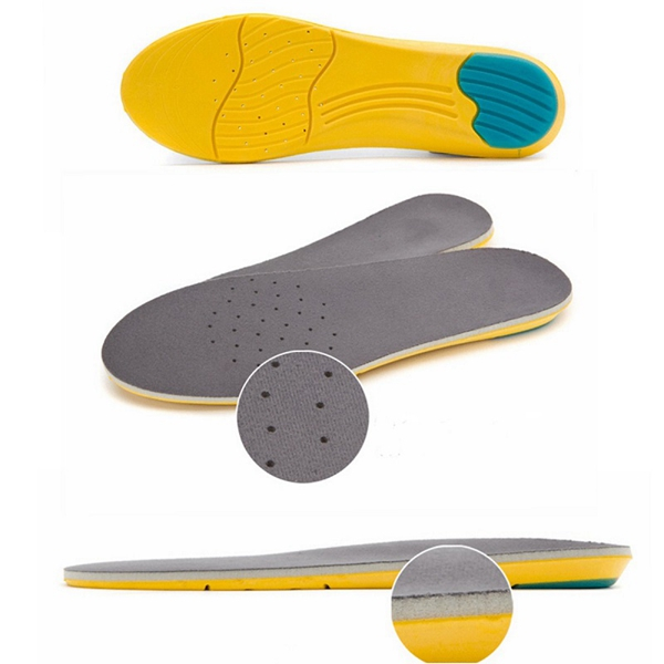 Memory Foam Breathable Orthotic Arch Shoe Insoles Sport Insert Heel Cushion Squishies Squishy Pad