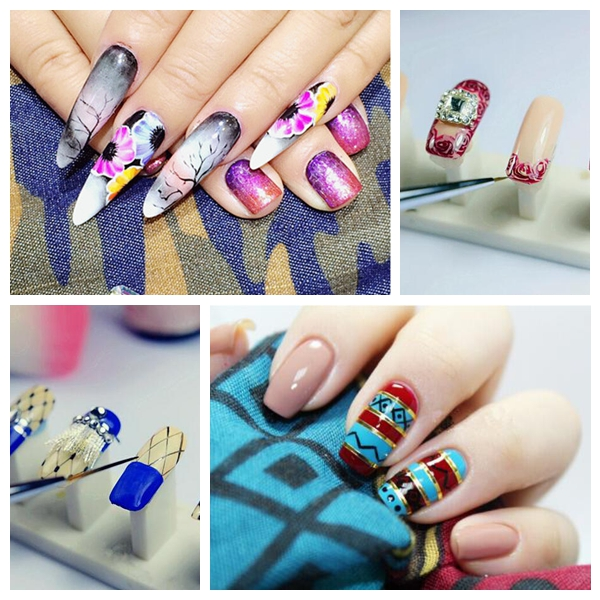 12 Colors Nail Art  Coloured Drawing Gel Phototherapy Pigmented  Painting Creation UV LED DIY Design