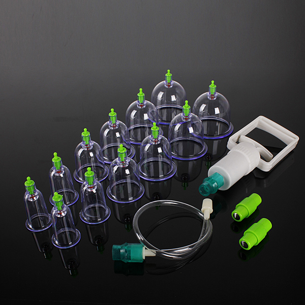Image of 12 Body Cupping Healthy Kit And 6 Therapy Massager Magnets