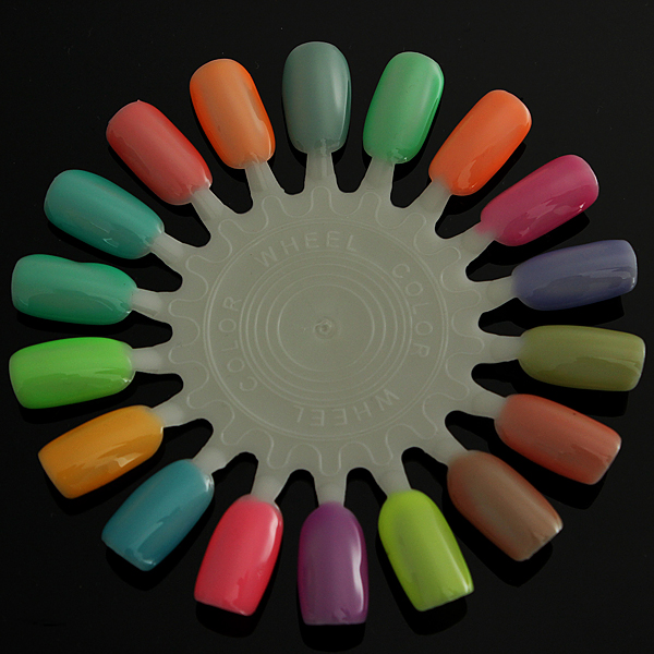 Fluoresce Luminous Neon Soak Off UV Gel Nail Polish Glow In Dark