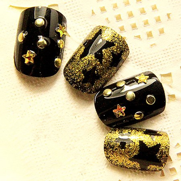 Mix Colors Size Metal Round Stud Nail Art Decoration Wheel