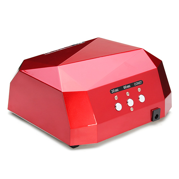 18Watt 100-240V Diamond Shape LED Lamp Nail Art UV Gel Dryer