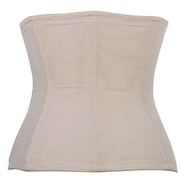 Embroidery Soft Steel Boned Waist Cincher