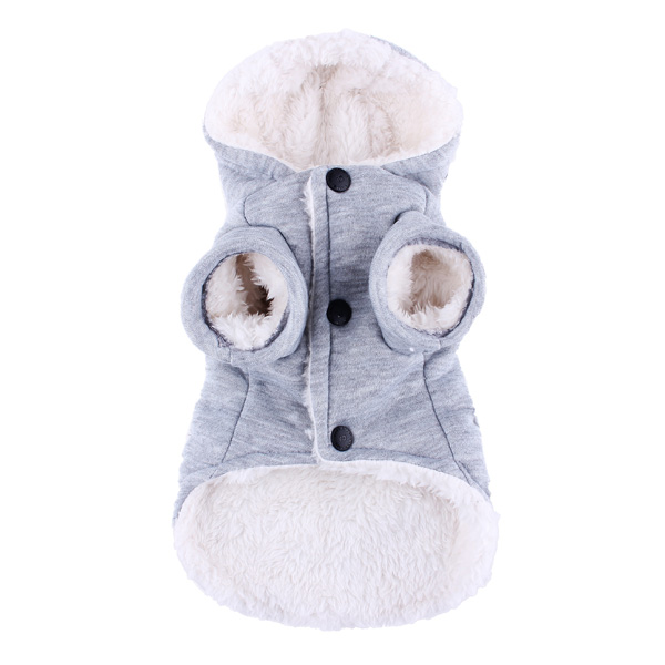 Winter Pet Dog Coat Thick Student Style Cotton Coat Clothes Dog Cat Hoodie