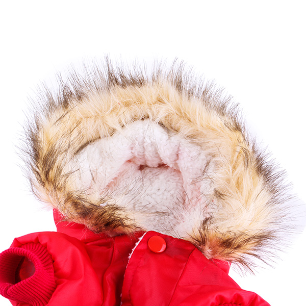 Winter Pet Cat Dog USA Air Force Cotton Jumpsuit Coat Clothes