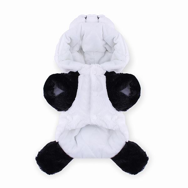 Winter Cat Dog Panda Style Thick Warm Cotton Dog Cat Coat Jumpsuit