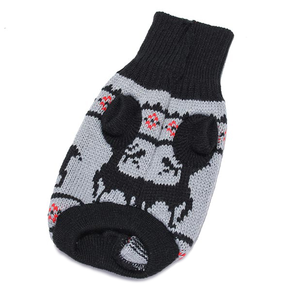 Deer Pet Dog Knitted Breathable Sweater Outwear Apparel