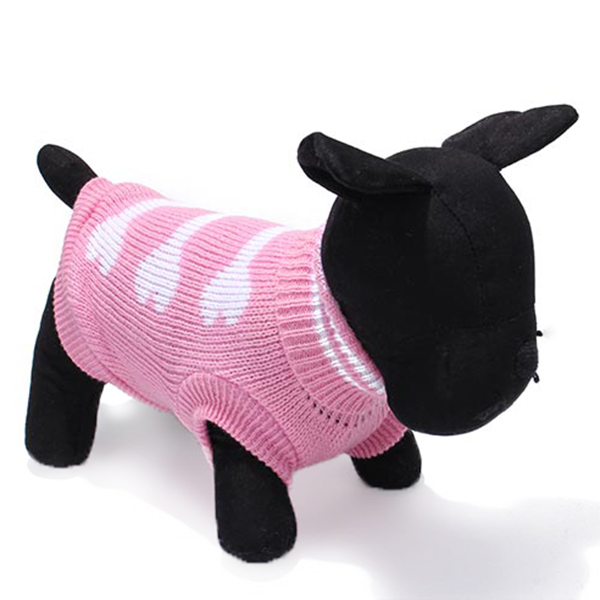 Three Bone Type Turtleneck Pet Dog Knitted Breathable Sweater Outwear