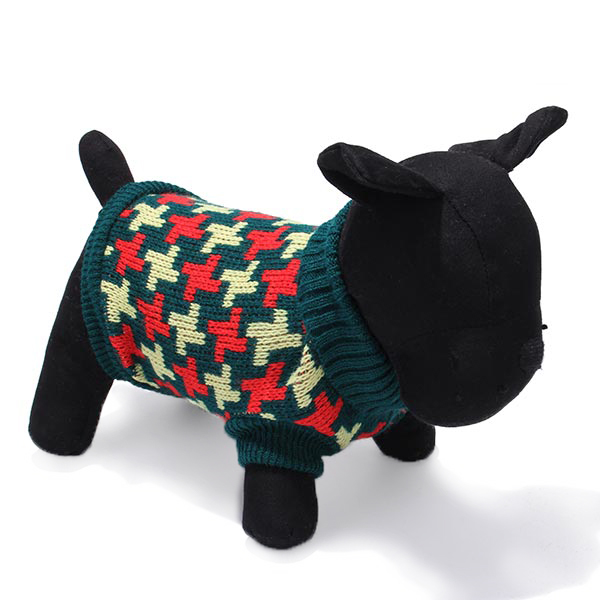 Pet Dog Cat Knitted Breathable Warm Sweater Outwear Winter Coat