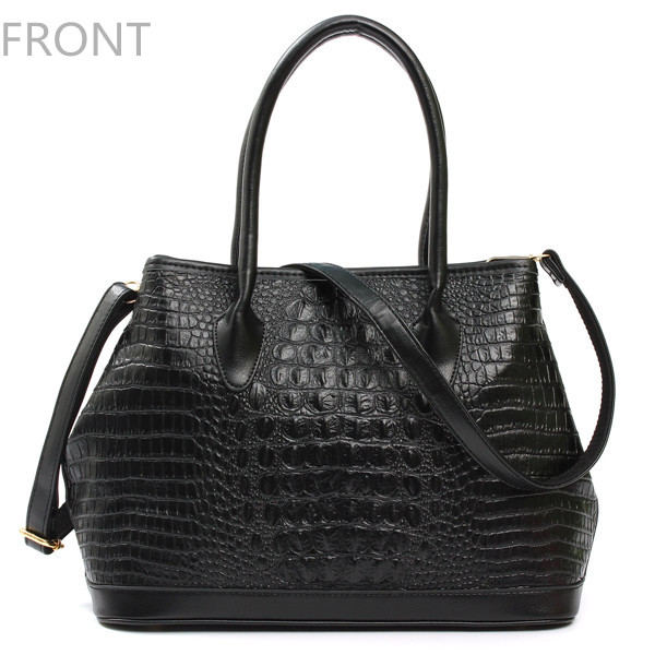 Women Crocodile Pattern Handbags Ladies Elegant Shoulder Bags Crossbody Bags