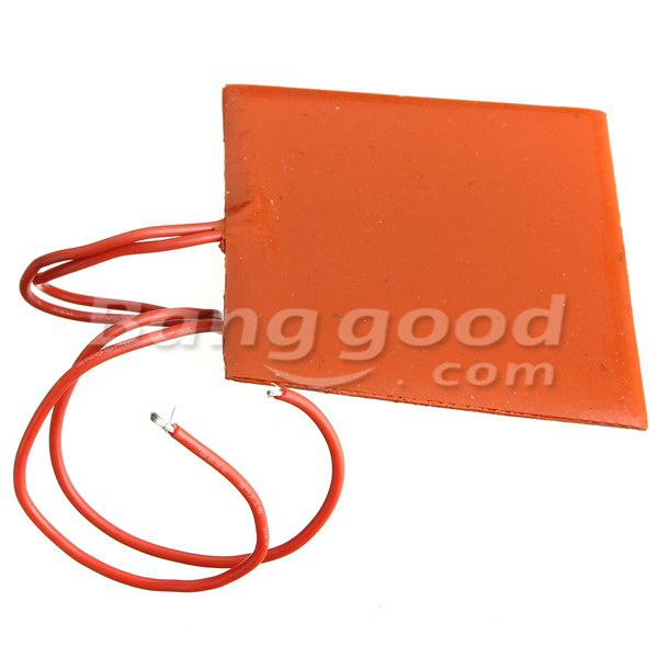 Waterproof Silicone Flexible Heating Pad 60*60MM DC 12V 10W