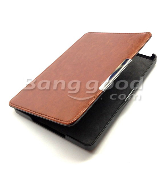 Magnetic PU Leather Case Cover Protector For Kobo Glo Ebook Reader