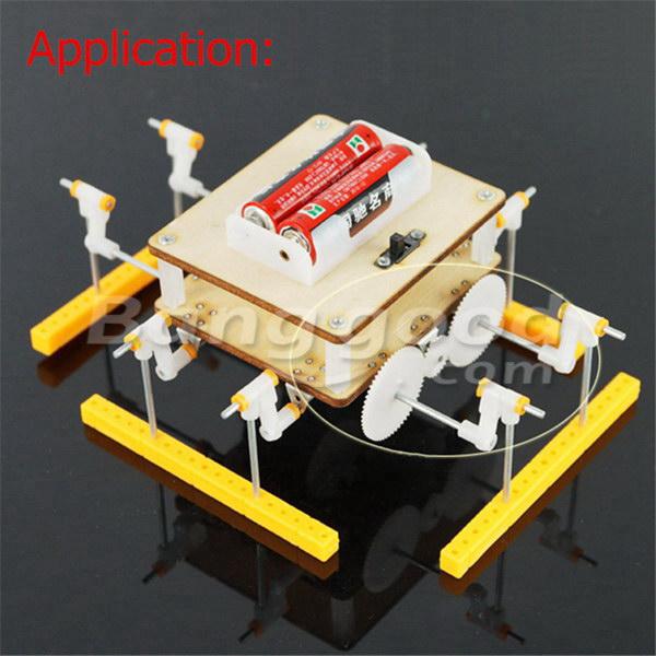 DIY 60 Kinds Plastic Gear Motor Gear Gear Box Robot Model Kit