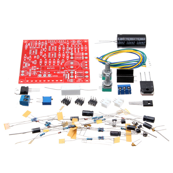 Original Hiland 0-30V 2mA - 3A Adjustable DC Regulated Power Supply Module DIY Kit