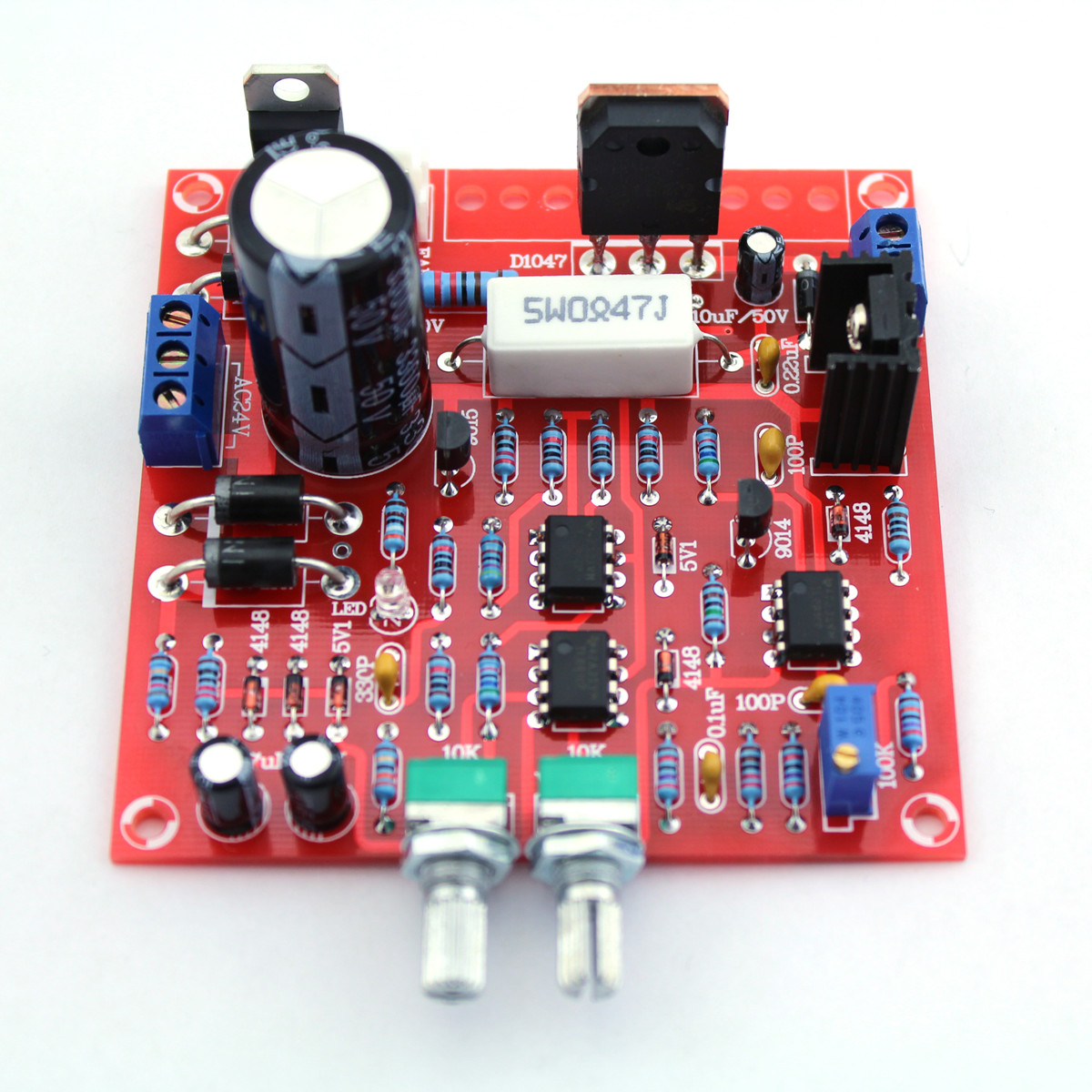 Original Hiland 0 30v 2ma 3a Adjustable Dc Regulated Power Supply 24v Dual Circuit Diagram Module Diy Kit