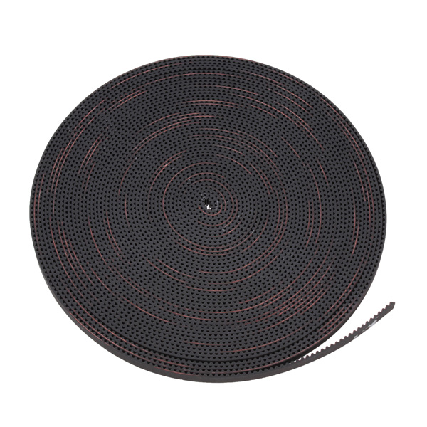 10M 2GT-6mm Rubber Opening Timing Belt S2M GT2 Belt For 3D Printer