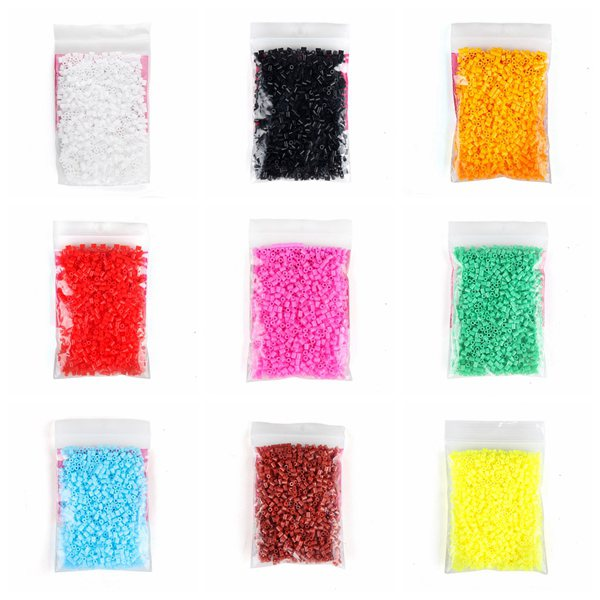 1000pcs 2.6mm Mini Soft Iron Hama Beads Fuse Beads Kid DIY Toy
