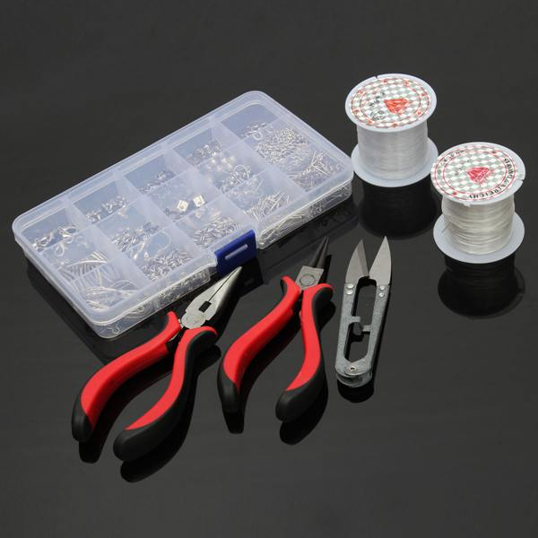 1 set Jewelry Making Kit Findings Pliers Fit Jewelry Accessories DIY