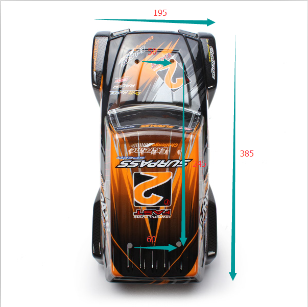 FY-CK02 SUV Body Shell For FY-02 1/12 RC Cars Parts