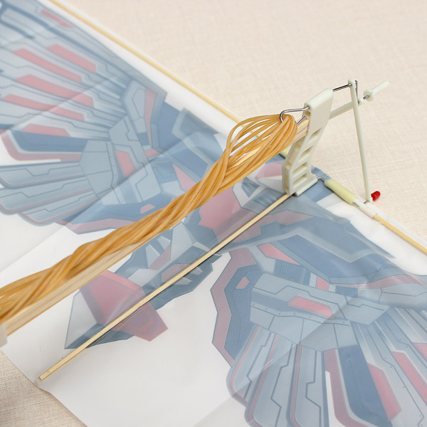DIY Assembly Flapping Wing Flight Model Imitate Birds Aircraft