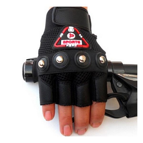 Non-slip Sports Motorcycle Bike Four Rivets Gloves