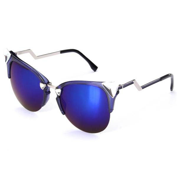 Retro Men Women Mirrored Lenses Riding UV400 Sunglasses Vintage Glasses