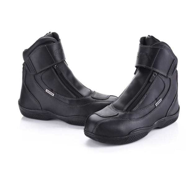 Men's Motorcycle Riding Off Road Racing Leather Boots F
