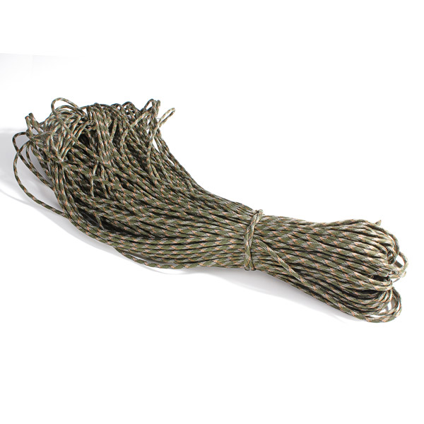 100M Roll Multifunctional 4mm Strands Parachute Lanyard Rope
