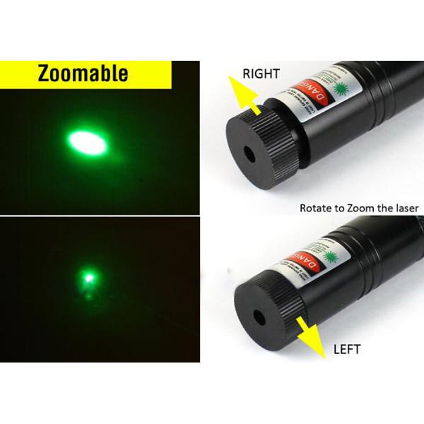 XANES GD07 G301 Focus 532nm Green Laser Pointer Pen Lazer Visible Beam