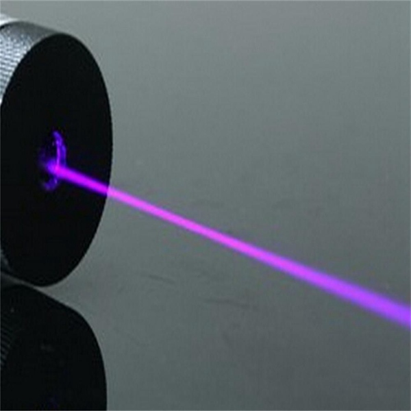XANES PL02 LT-850 405nm Violet Purple Light Laser Pointer Flashlight 1*16340