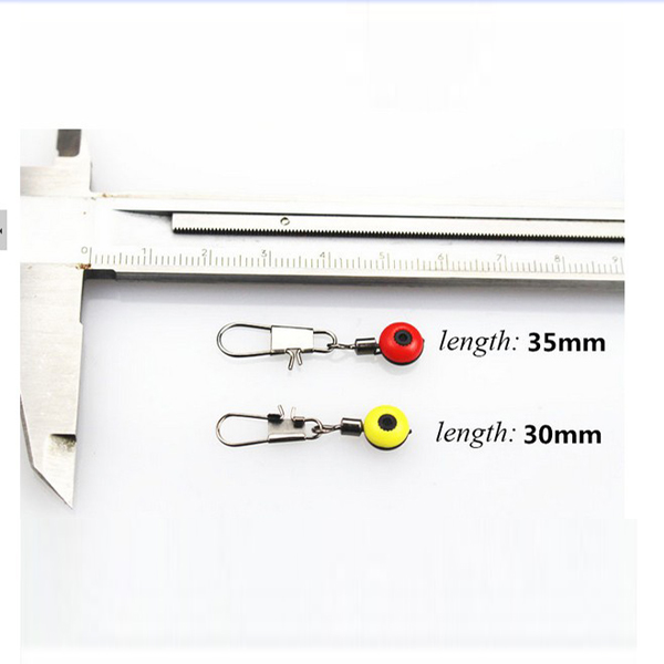 100pcs Steel Alloy Fishing Connector Solid Rings With Interlock Snap