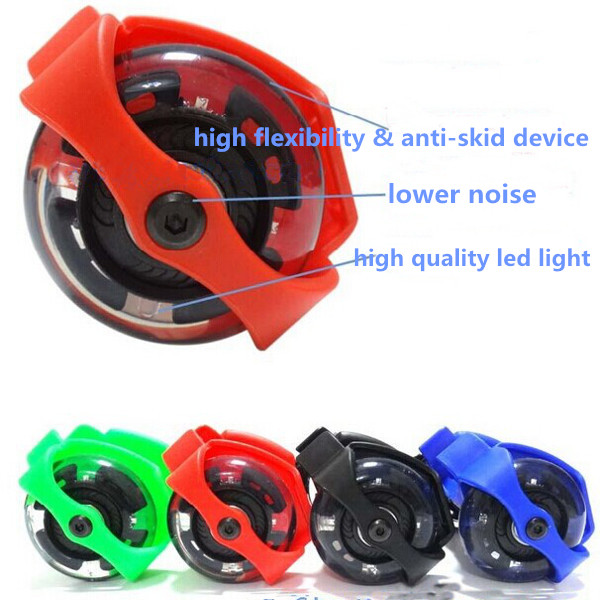 Mini Flashing Wheels Drifting Roller Skating Shoes Free Line Wheels