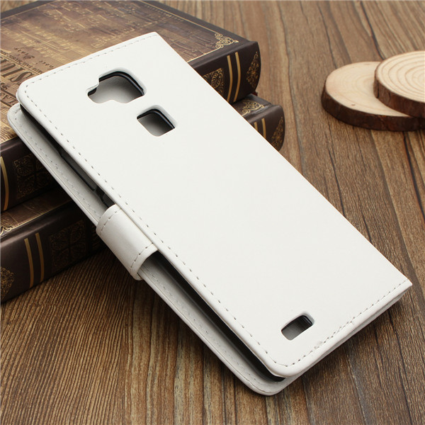 Flip PU Leather Wallet Card Case For Huawei Ascend Mate 7