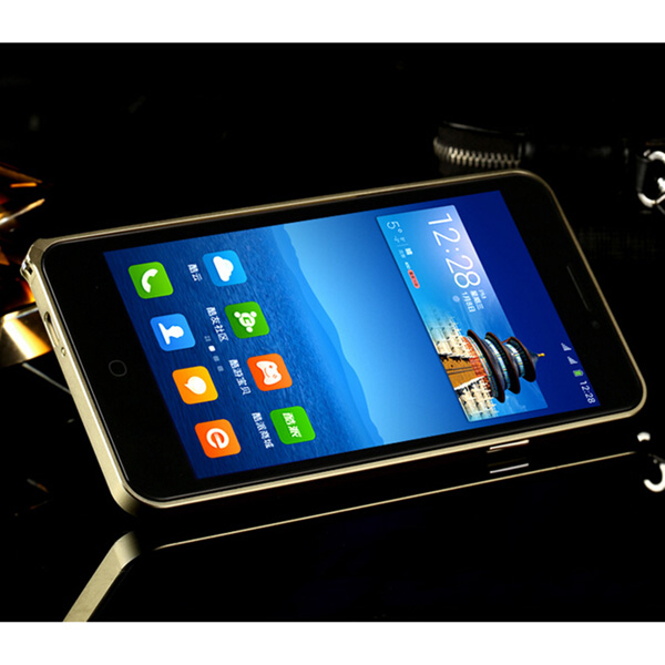 Ultra Thin Hippocampus Buckle Metal Bumper Case For Coolpad F2 8675