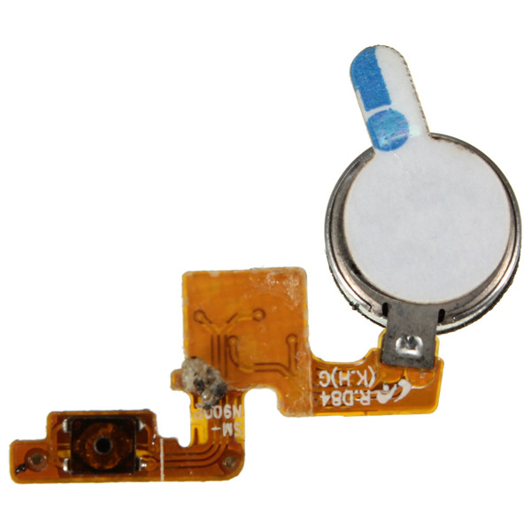 Power Button Vibrator Flex Cable For Samsung Galaxy Note 3 N9000 N9002