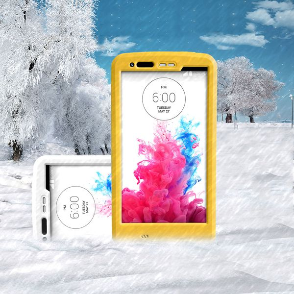 Colorful Soft Waterproof Stand Holder Case Cover For LG G3
