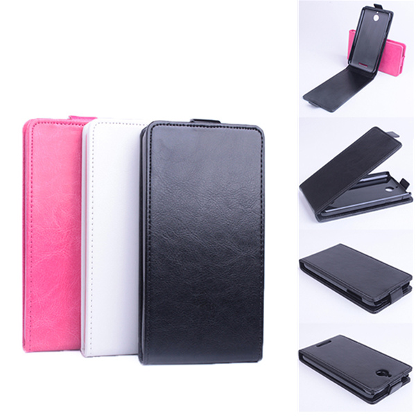 Flip Up And Down Leather Case Cover For HTC A11 Desire