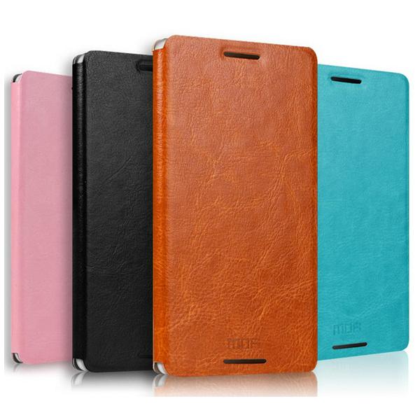 MOFI Rui Series Flip PU Leather Case Cover For Sony Xperia E3