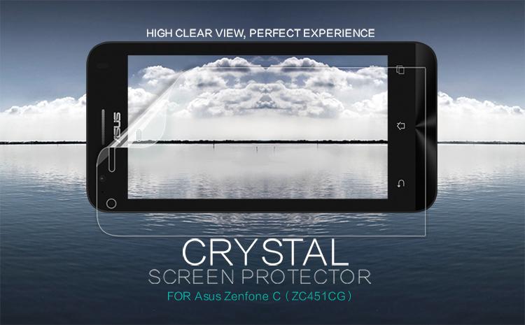NILLKIN Super Clear Protective Film For Asus Zenfone C (ZC451CG)